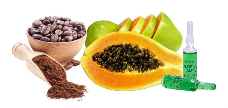 Ингредиенты для натуральной очищающей маски для лица