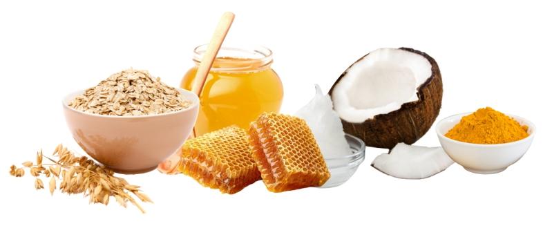 Ингредиенты для натуральной омолаживающей маски для лица