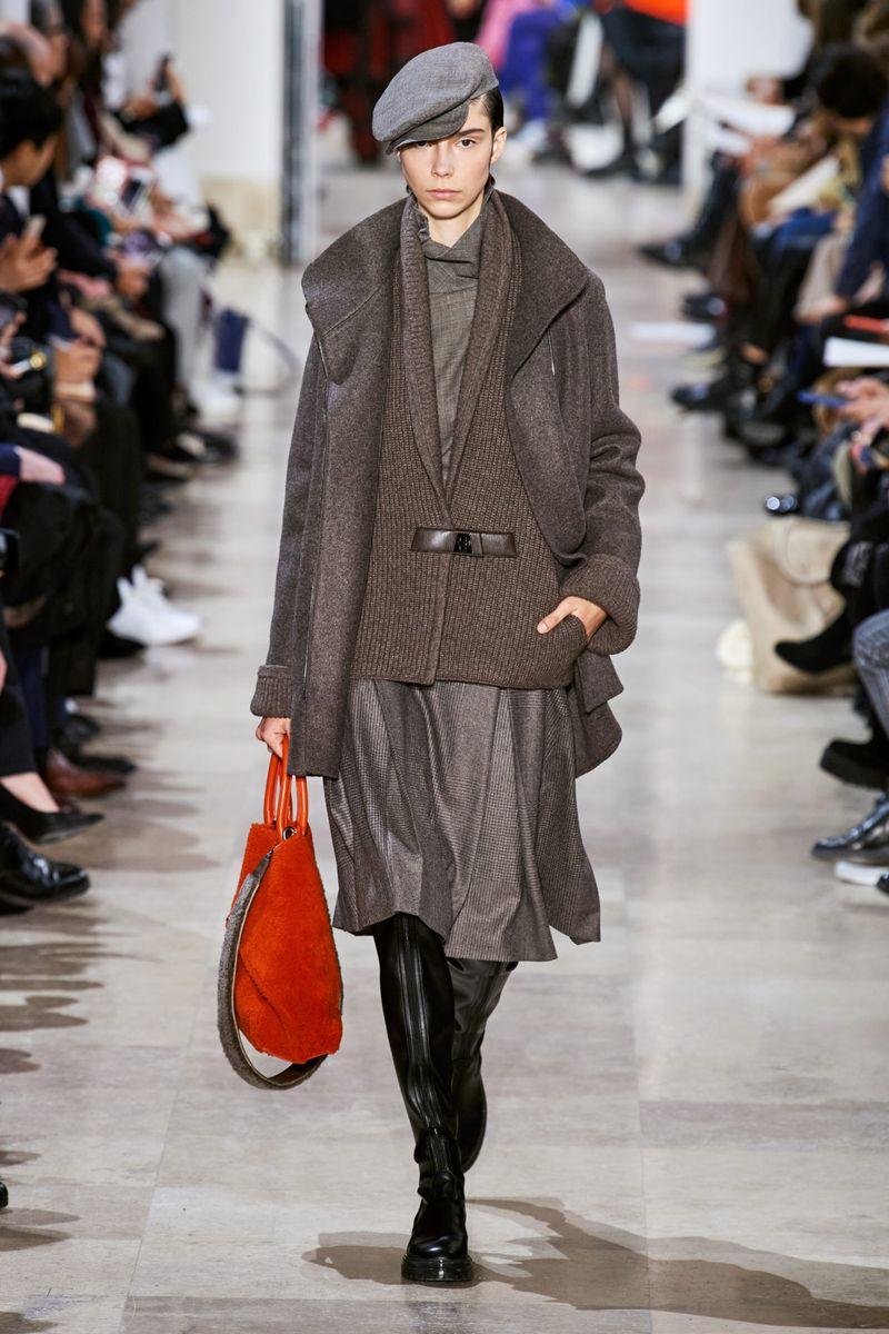 Модная плиссированная юбка осень-зима 2020-2021 Akris