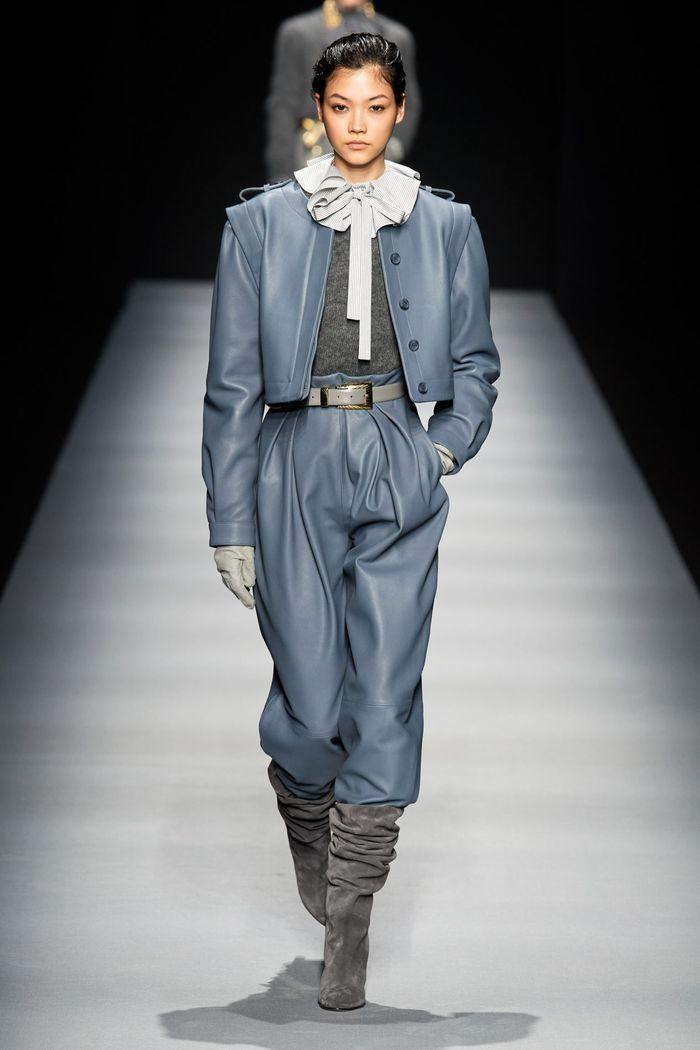 Модная одежда осень-зима 2020-2021. Брюки из коллекции Alberta Ferretti