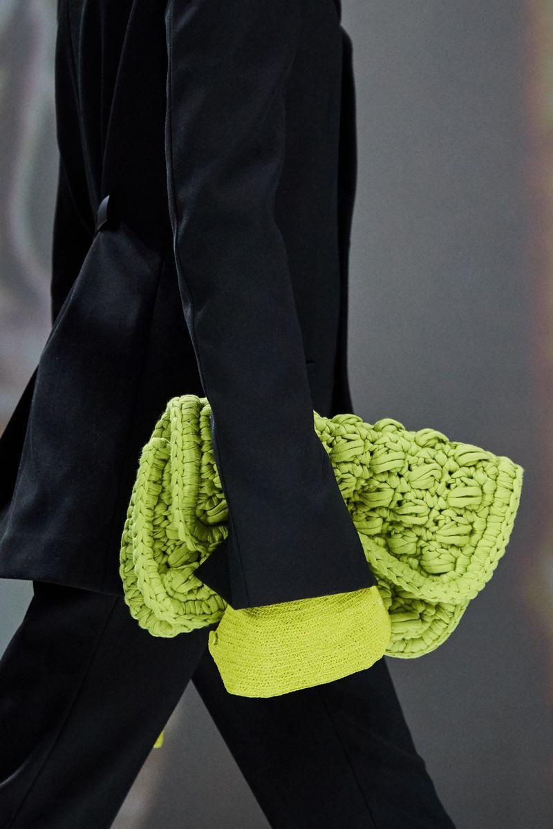 Модные вязаные сумки осень-зима 2020-2021 из коллекции Bottega Veneta