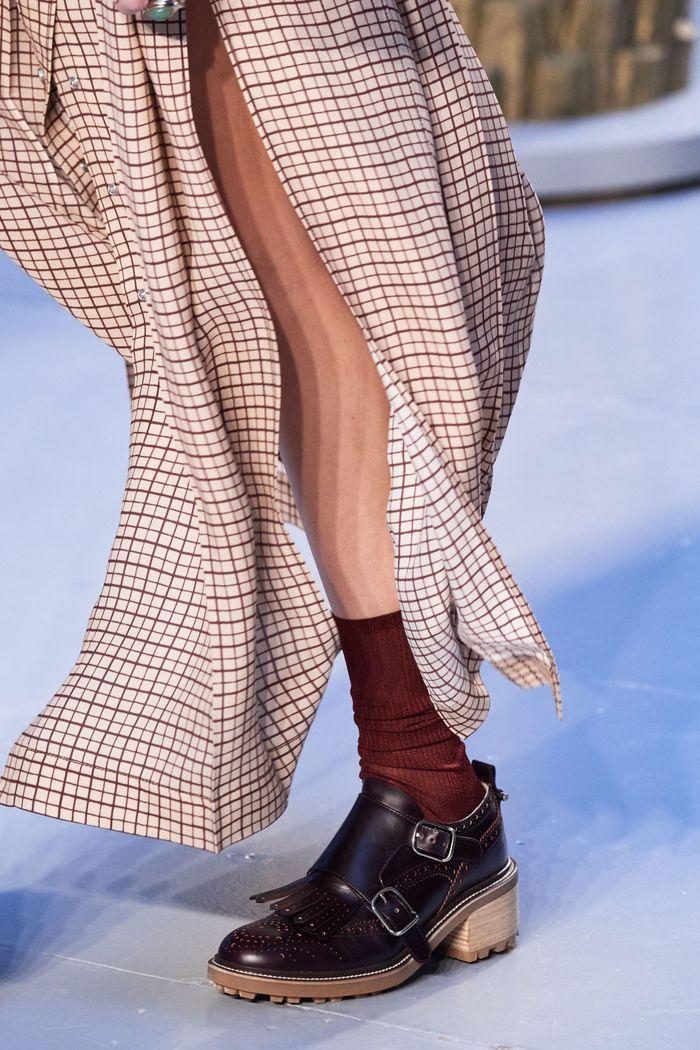 Модная женская обувь сезона осень-зима 2020-2021 - ботинки монки из коллекции Chloé