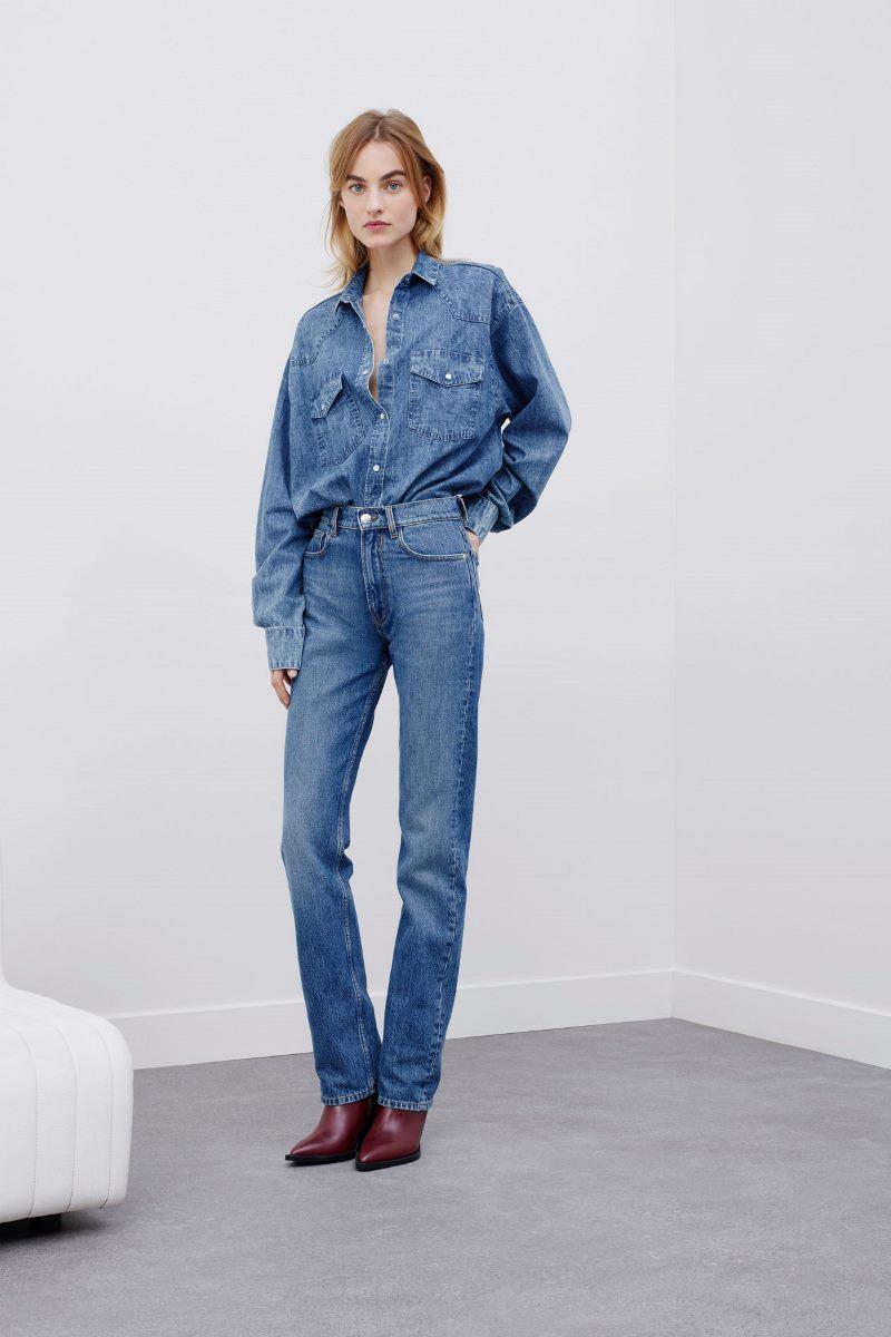 Модные джинсы осень-зима 2020-2021 из коллекции IRO
