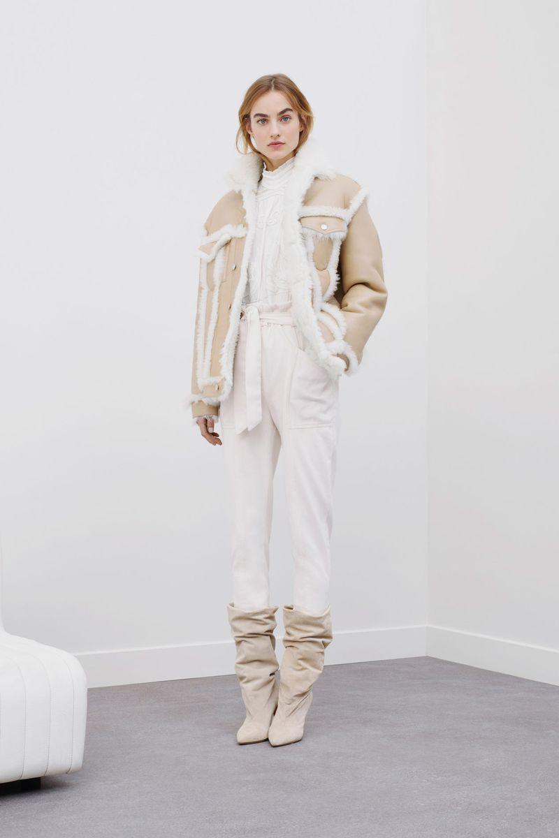 Модная куртка-дубленка зима 2021 из коллекции IRO