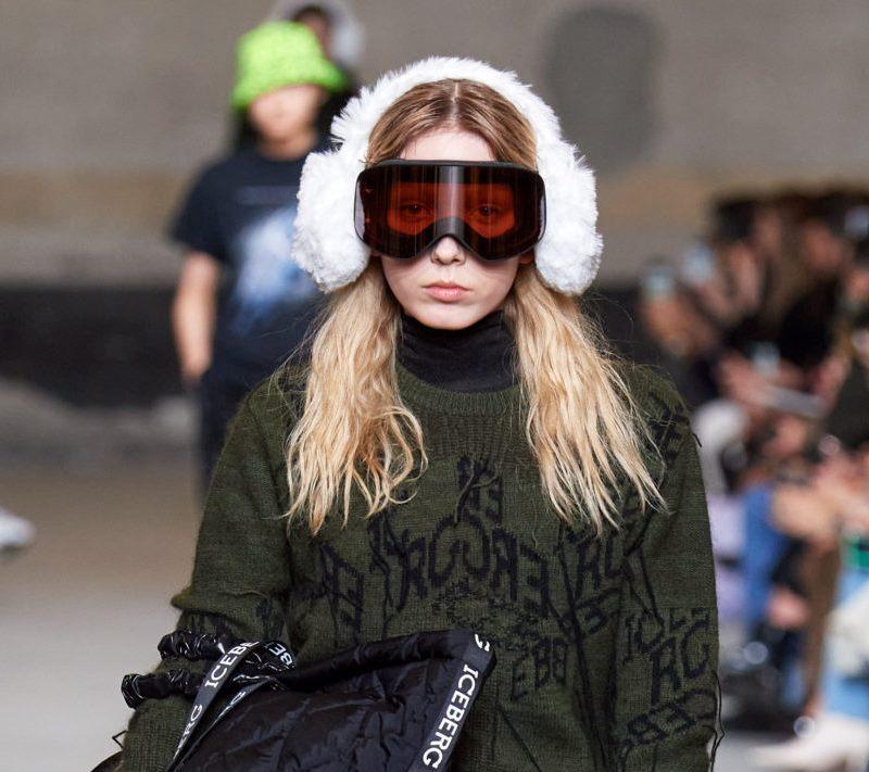 Модные женские головные уборы осень-зима 2020-2021 из коллекции Iceberg