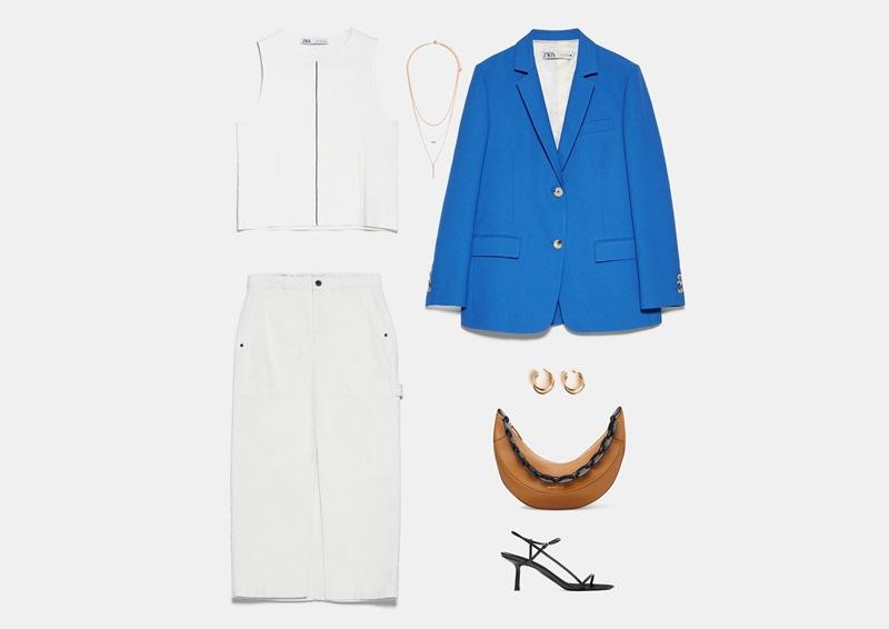 Как носить белую длинную юбку модели карандаш