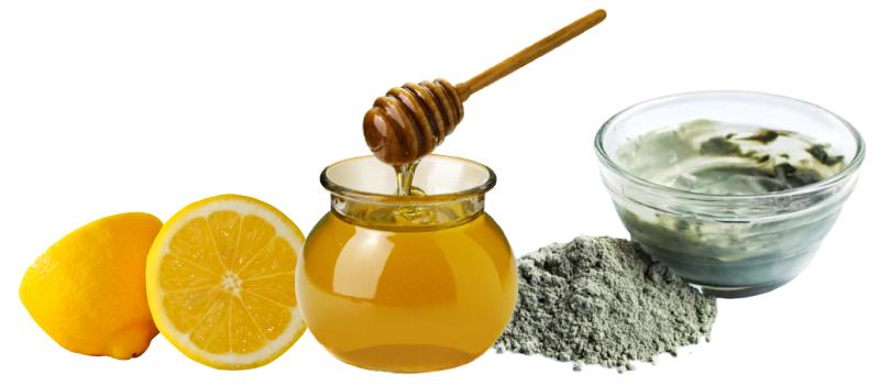 Маска на основе лимона