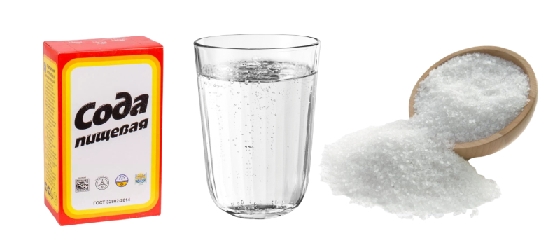 Маска на основе соды