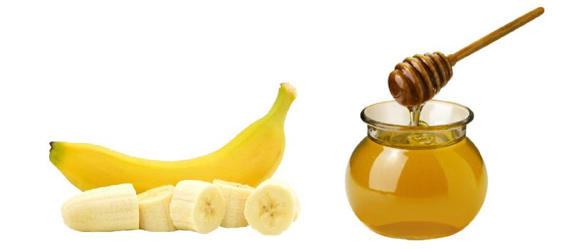 Медово-банановая маска