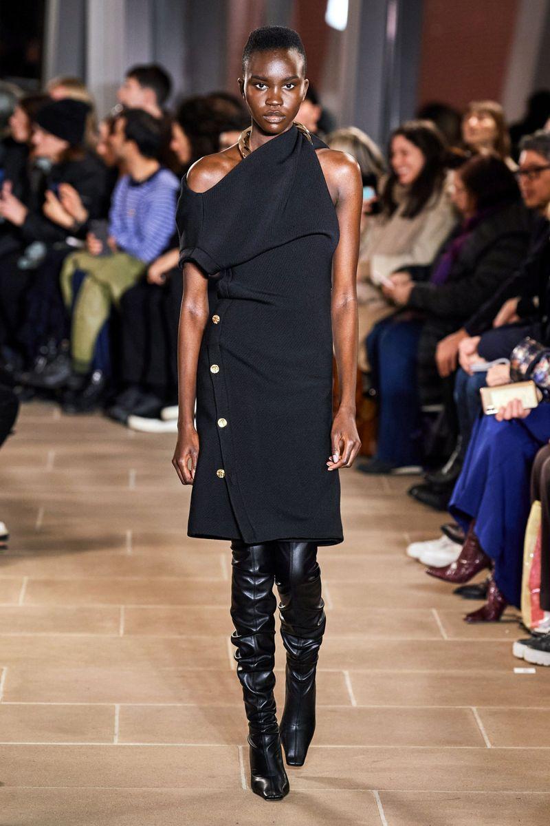 Модное платье осень-зима 2020-2021 из коллекции Proenza Schouler