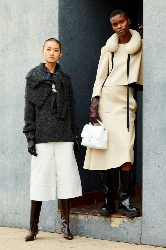 Модная одежда осень-зима 2020-2021. Образ из коллекции Tibi