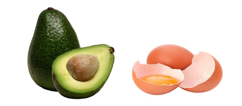 Восстанавливающая маска с авокадо
