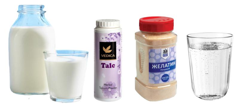 Желатиновая маска на молоке