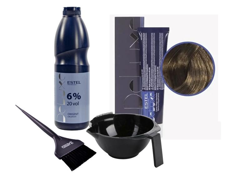 Окрашивание волос в домашних условиях: смешивание состава