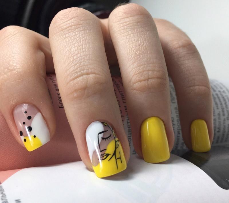 Мастер-класс: создаем летний желтый маникюр