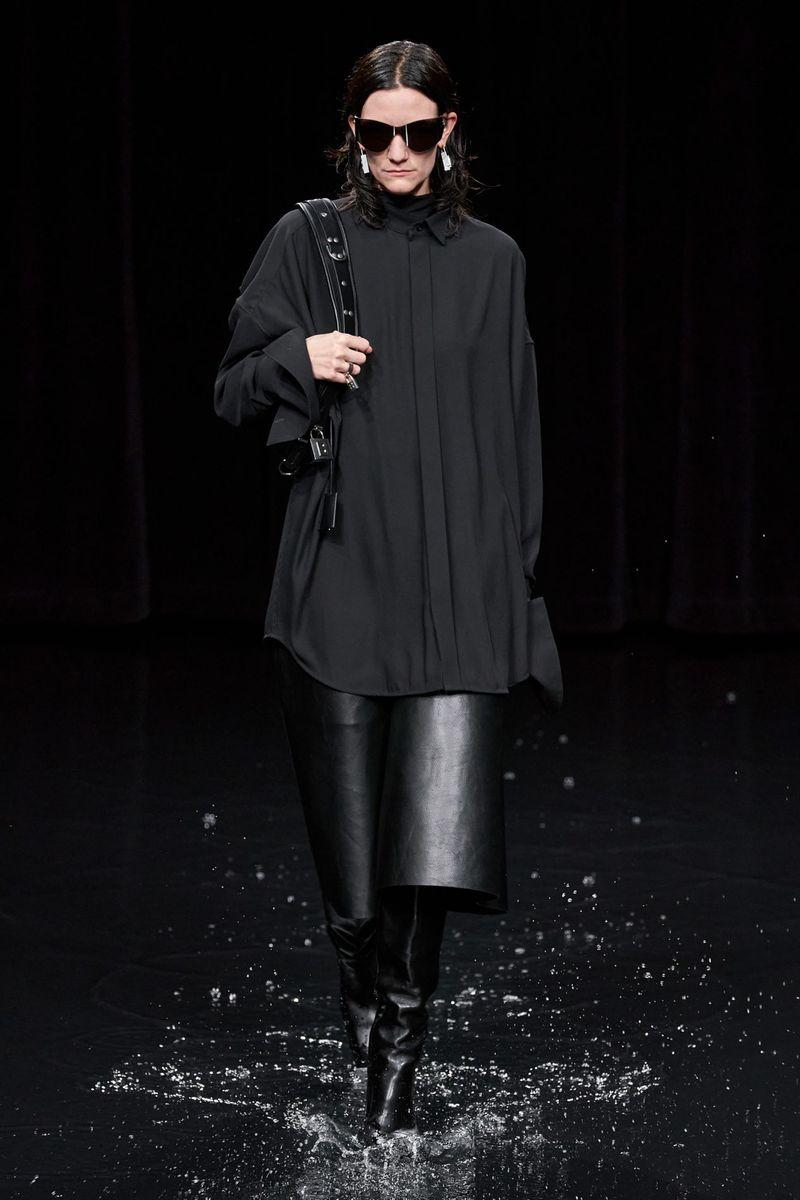Модные брюки из коллекции осень-зима 2020-2021 Balenciaga