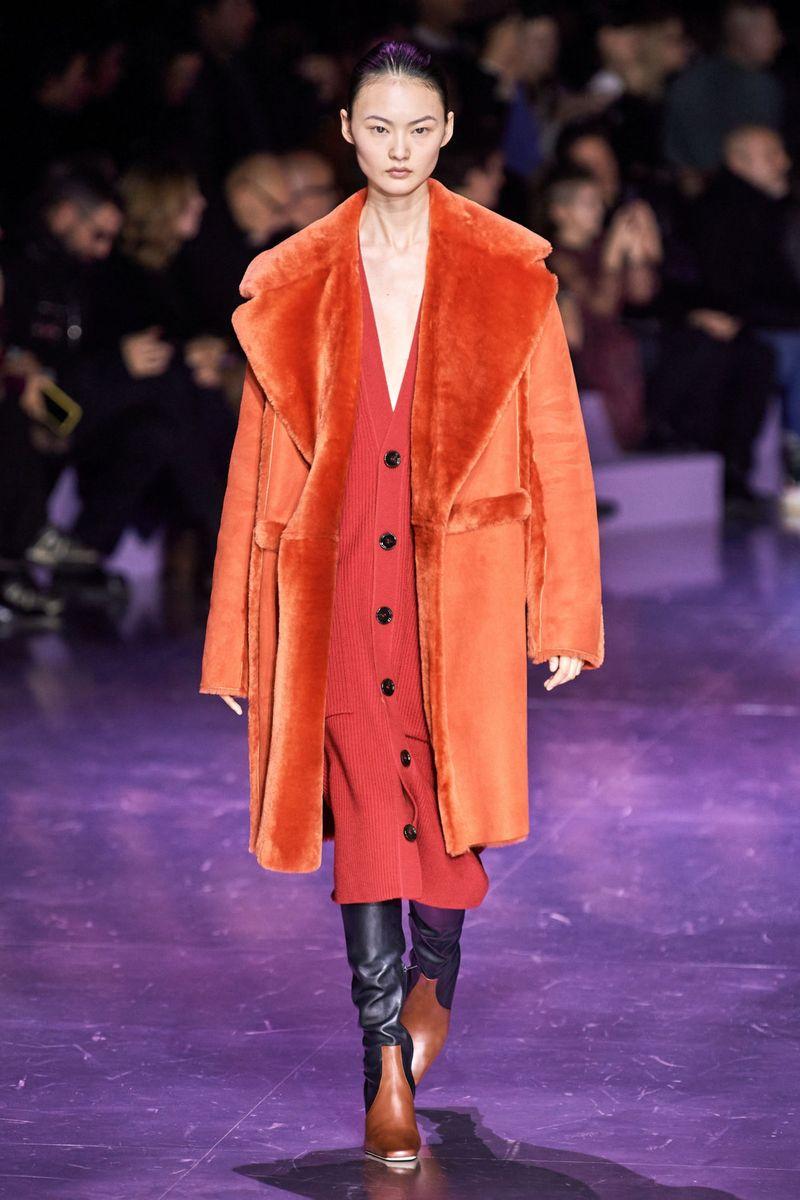 Модный длинный кардиган из коллекции осень-зима 2020-2021 Hugo Boss