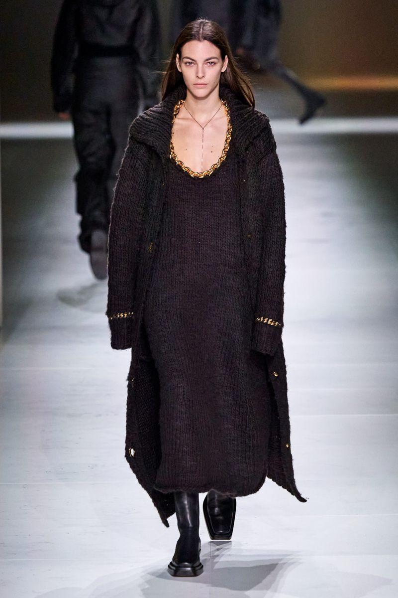 Модный длинный кардиган из коллекции осень-зима 2020-2021 Bottega Veneta