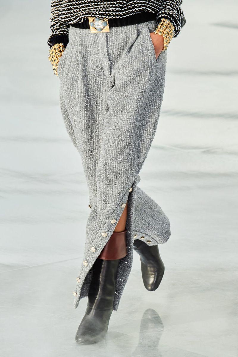 Модные брюки из коллекции осень-зима 2020-2021 Chanel