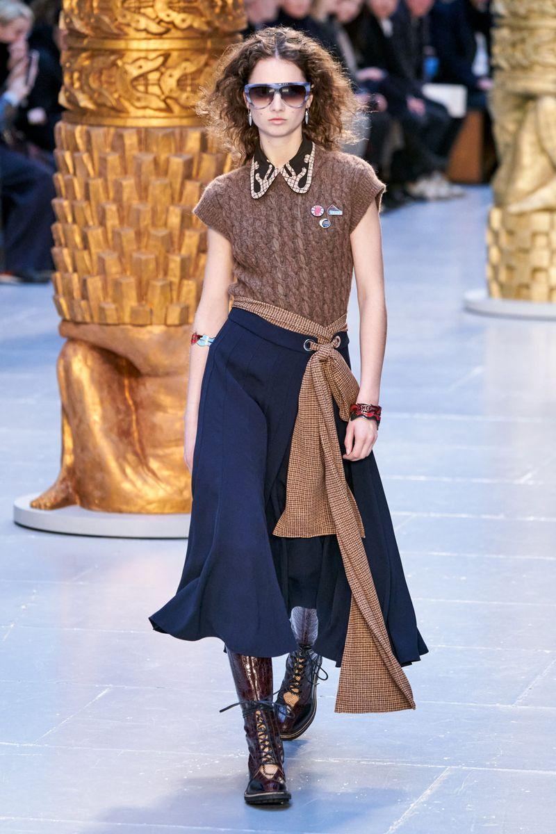 Модный жилет из коллекции осень-зима 2020-2021 Chloé