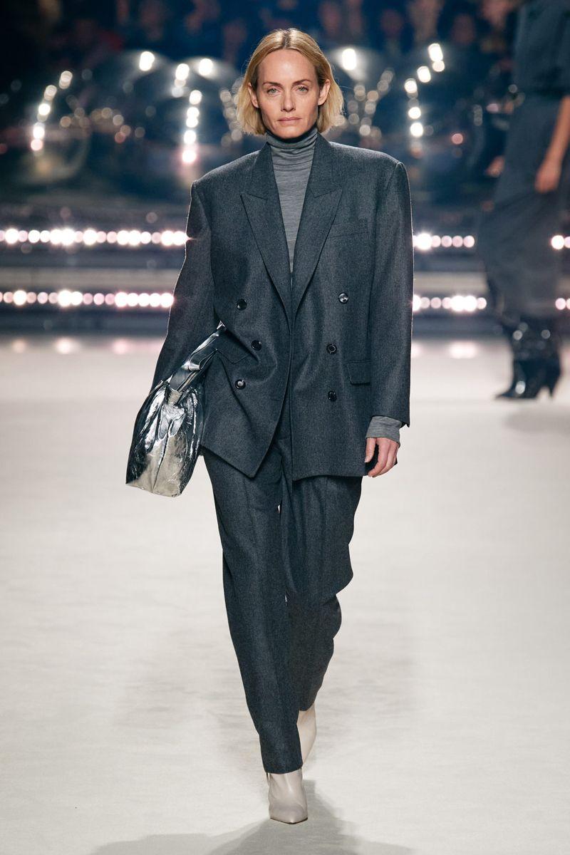 Модный пиджак из коллекции осень-зима 2020-2021 Isabel Marant