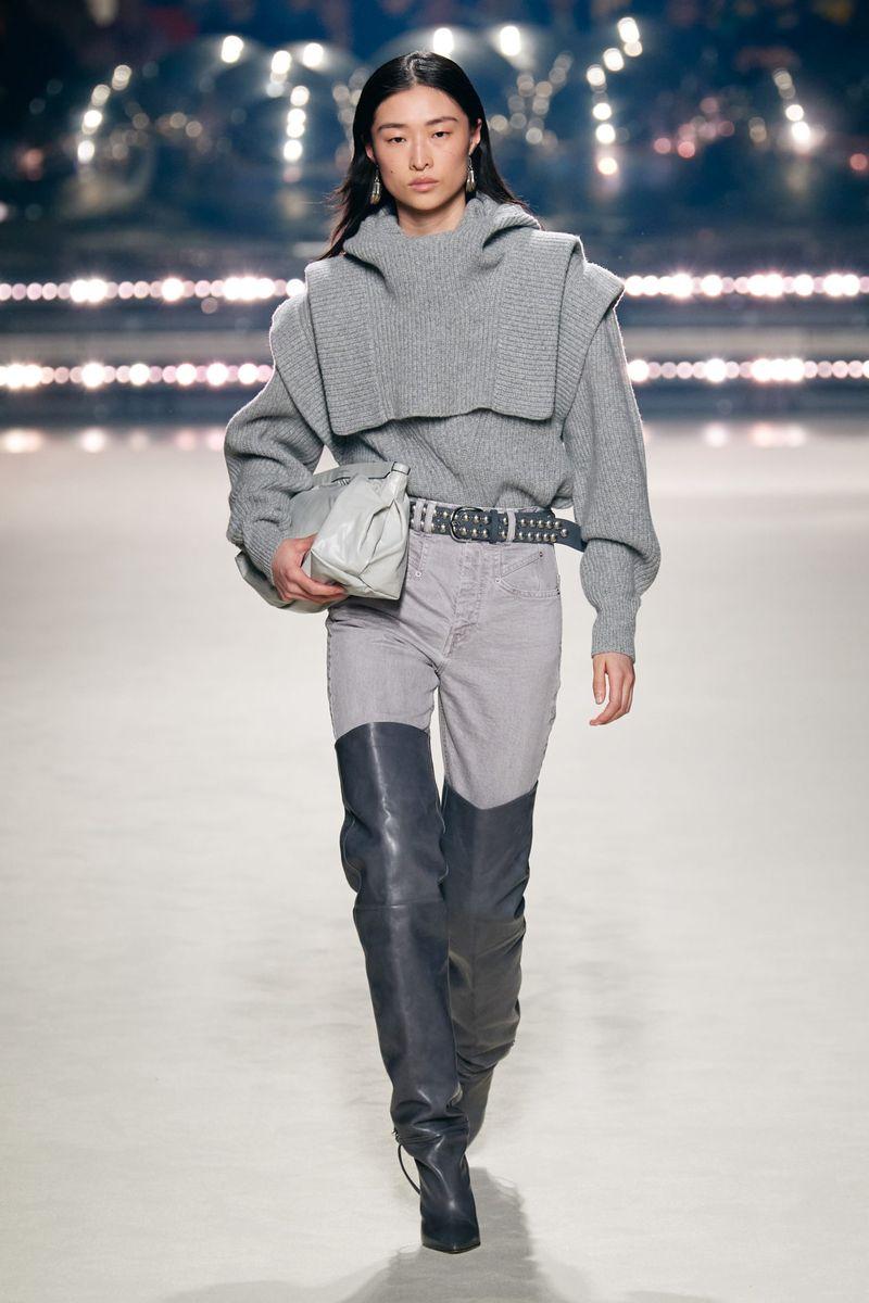 Модные сапоги осень-зима 2020-2021 из коллекции Isabel Marant