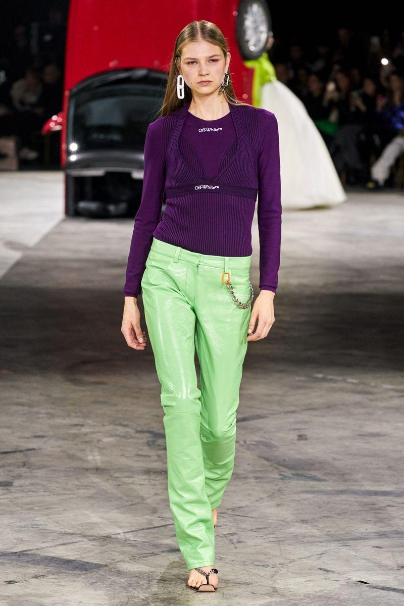 Модный джемпер осень-зима 2020-2021 из коллекции Off-White