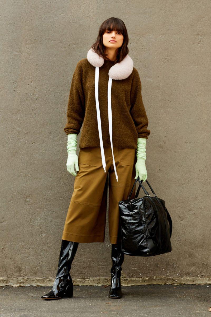 Модные брюки из коллекции осень-зима 2020-2021 Tibi