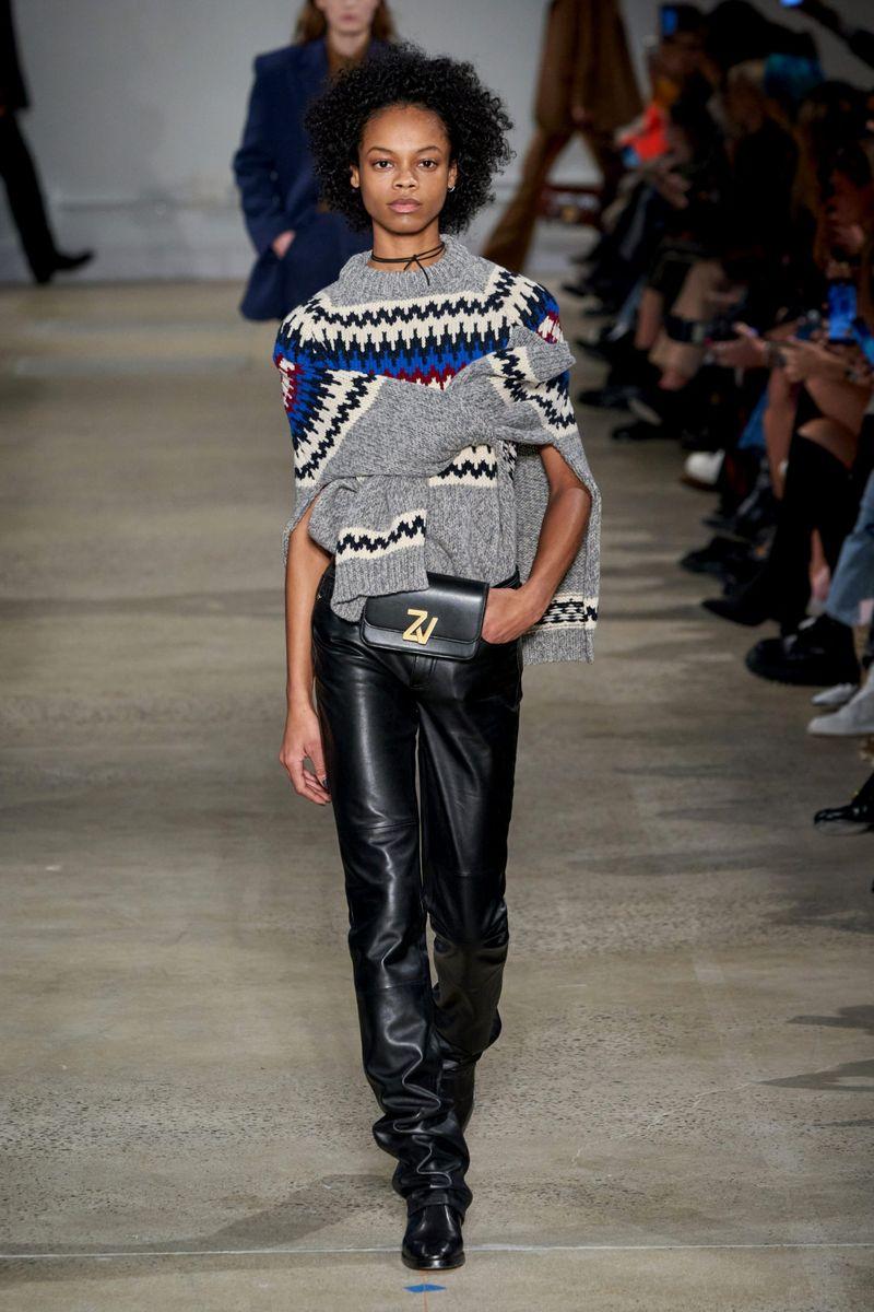 Модные брюки из коллекции осень-зима 2020-2021 Zadig & Voltaire