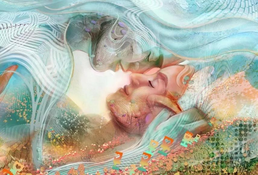 Иллюстрация: любовь к себе