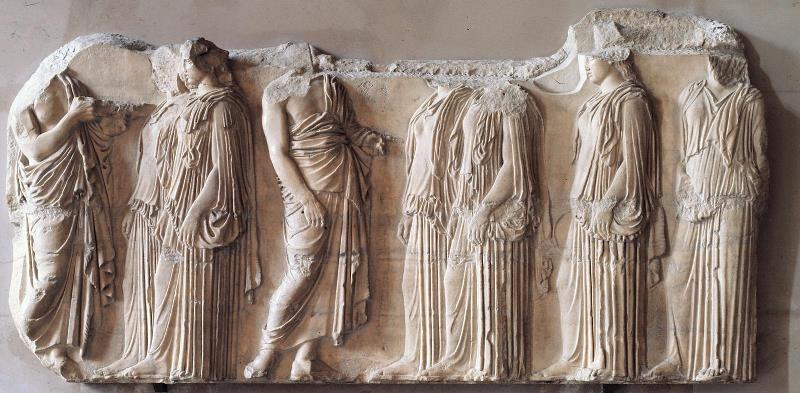 Женский костюм в Греции