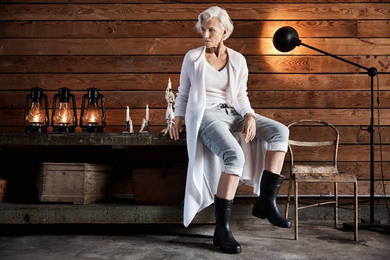 Модная женщина 50 лет