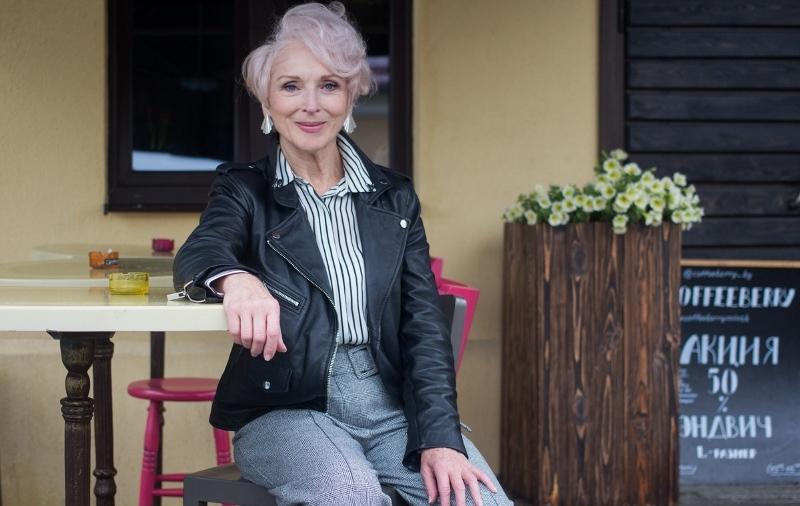 Модная женщина 60 лет