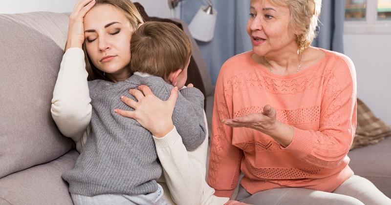 Конфликт из-за ребенка