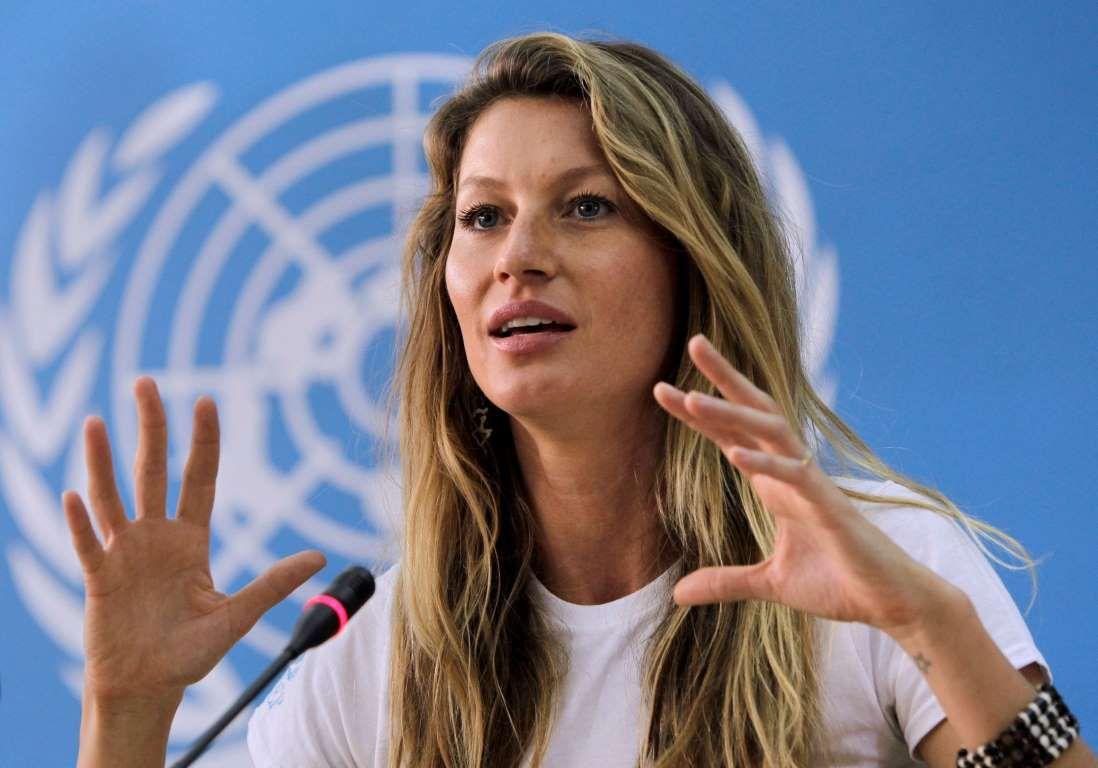 Жизель Бундхен в ООН