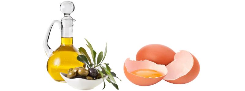 Маска из желтка яйца для сухой кожи