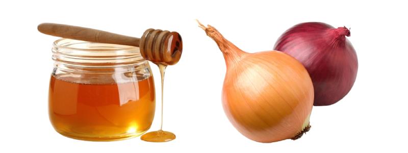Маска от перхоти с мёдом и репчатым луком