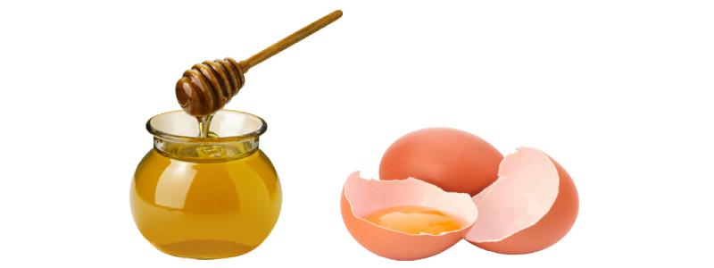 Маска с яйцом и медом для лица от морщин
