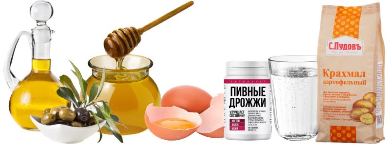 Маска с яйцом и медом для рук