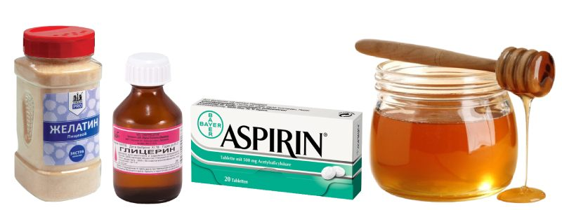 Очищающая маска с аспирином для лица