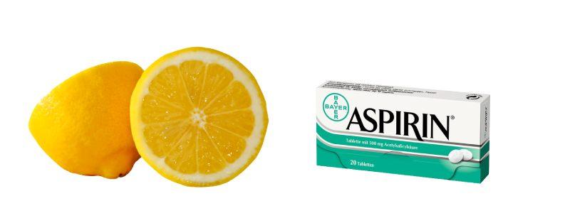 Отбеливающая маска из аспирина для лица