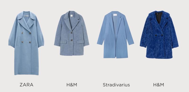 Популярные модели синего пальто 2020-2021 года и рекомендации по выбору