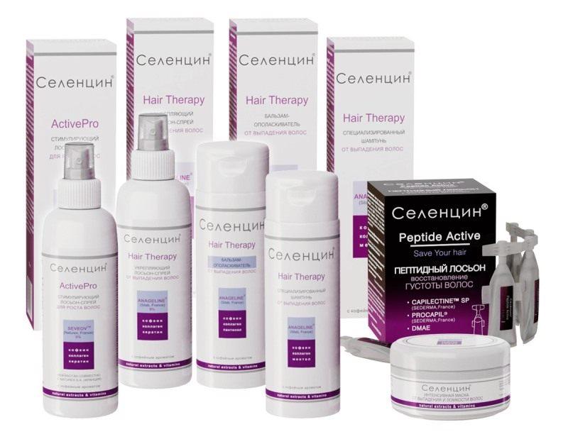 Рейтинг шампуней. 4 место - Селенцин Hair Therapy