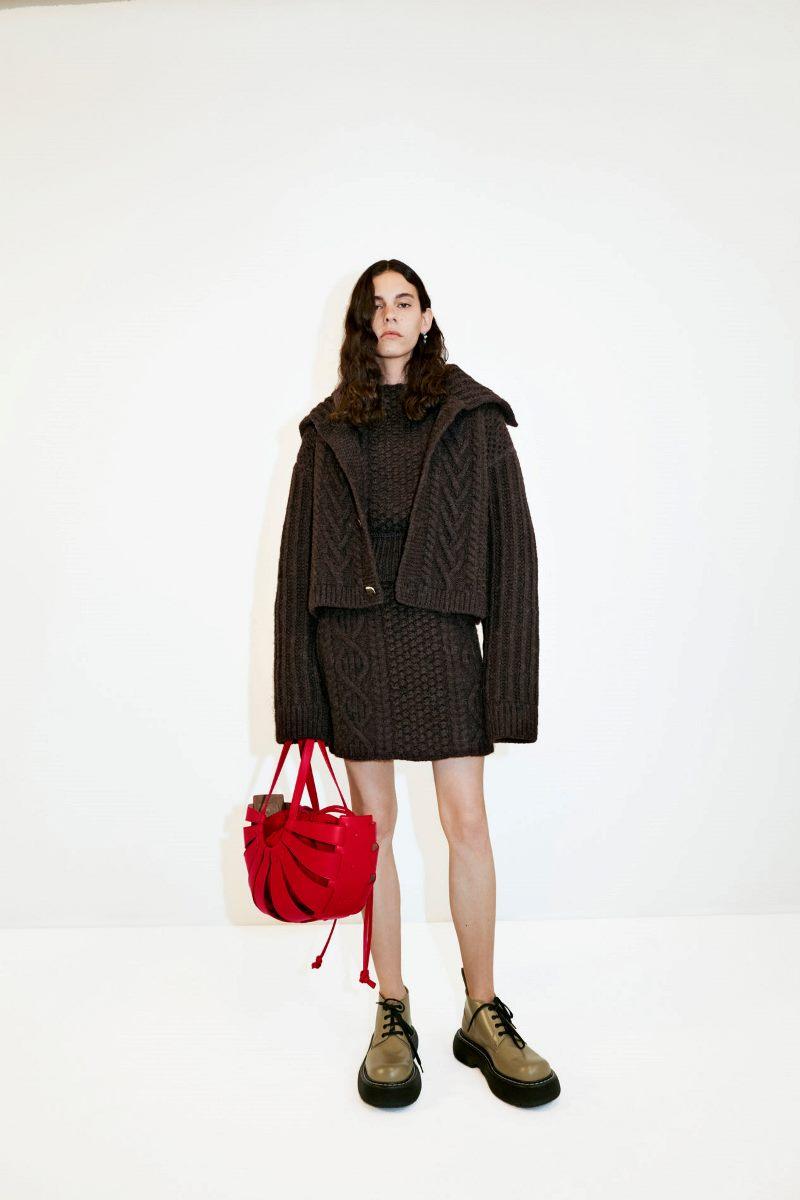Модные тренды 2021 в обуви. Фото из коллекции Bottega Veneta