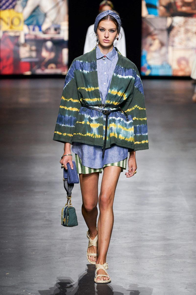 Модный тренд в одежде 2021. Фото из коллекции Christian Dior