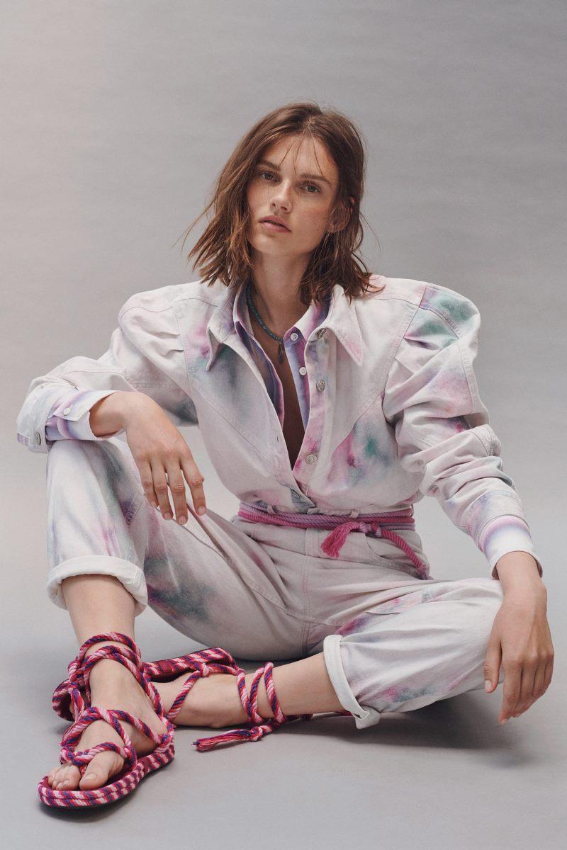 Модный тренд в одежде 2021. Фото из коллекции Isabel Marant Etoile