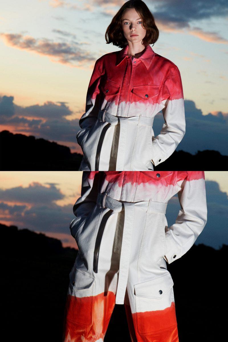 Модный тренд в одежде 2021. Фото из коллекции Stella McCartney