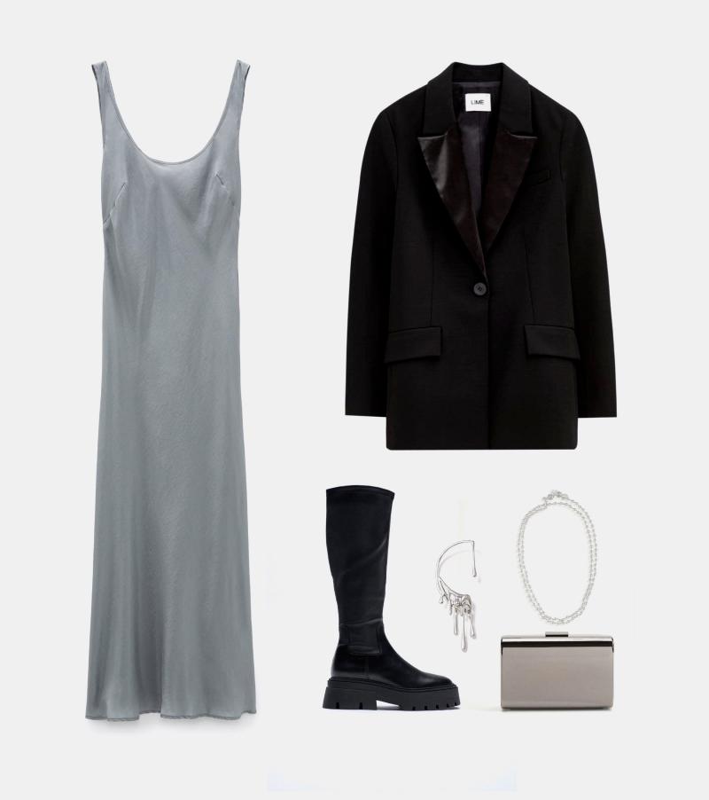 Платье на Новый 2021 год - образ от стилиста