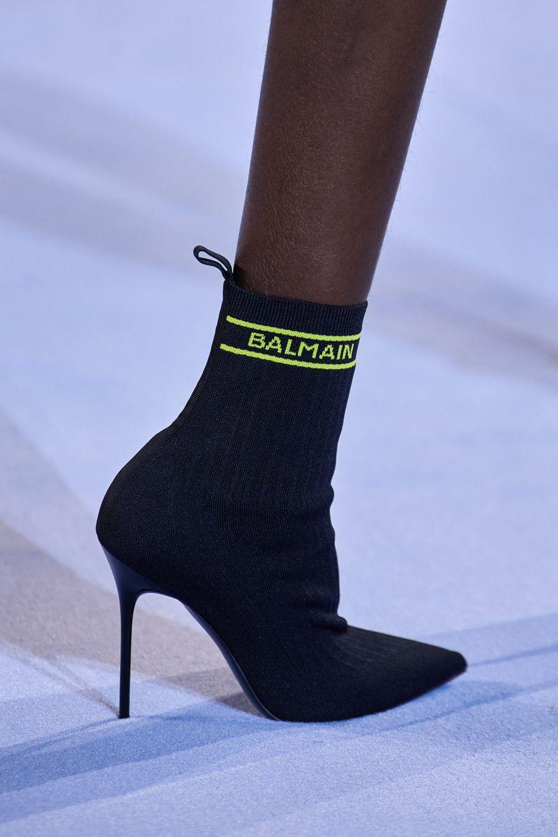 Модная обувь 2021 из коллекции весна-лето Balmain