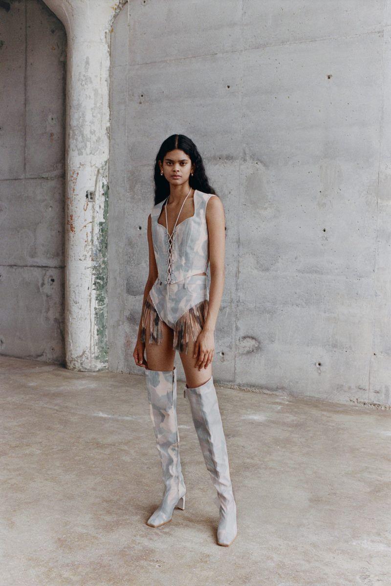 Модная обувь 2021 из коллекции весна-лето Dion Lee